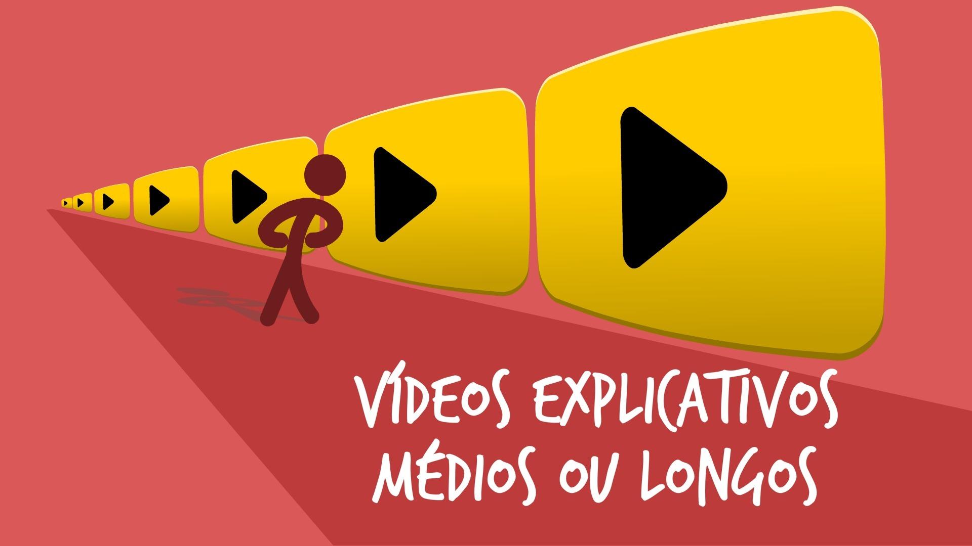 Vídeos explicativos médios ou longos